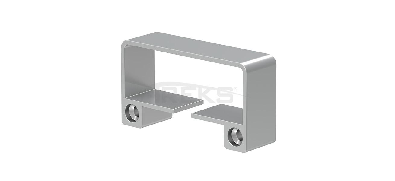 Aluminium square railing