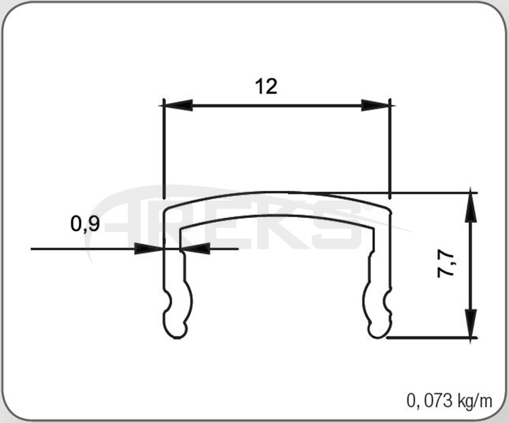 40LIK_DIKME_KAPAGI Aluminium railing Aluminium fence Aluminium glass railing