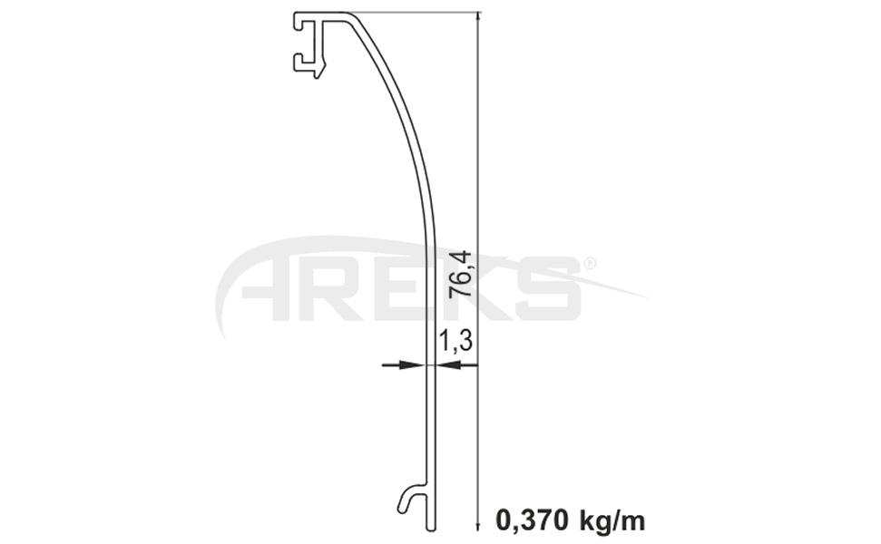 Zemin_Ustu_Cam_Kanal_Profili Aluminium railing Aluminium fence Aluminium glass railing