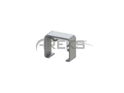 30X25_Duvar_Flansi Aluminium railing Aluminium fence Aluminium glass railing
