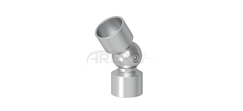30luk_Ayarli_Kure_Dirsek Aluminium railing Aluminium fence Aluminium glass railing
