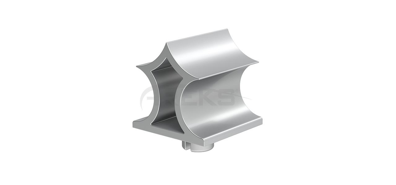 60x60_Cam_Dekorlu_Tapa Aluminium railing Aluminium fence Aluminium glass railing
