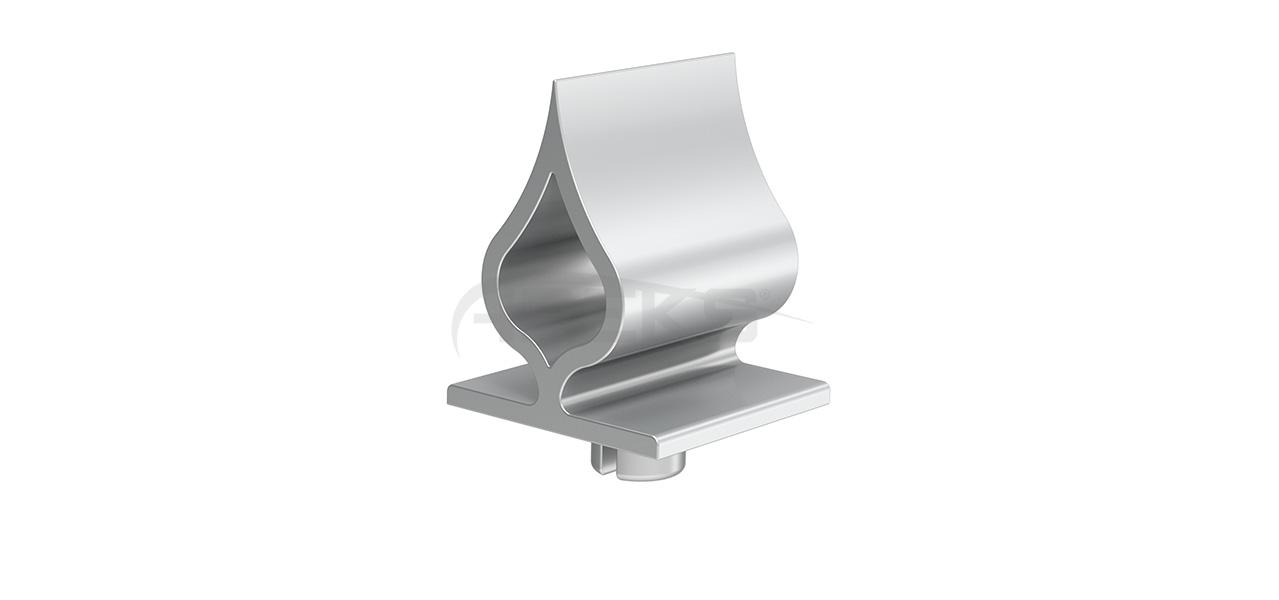 60x60_Damla_Dekorlu_Tapa Aluminium railing Aluminium fence Aluminium glass railing