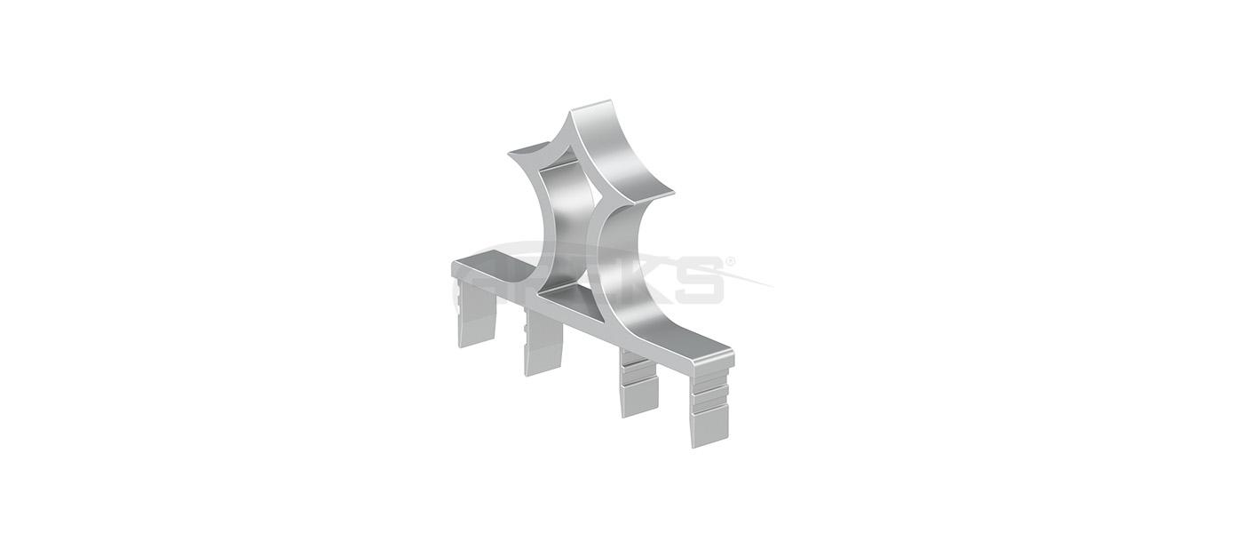 14x100_Cam_Dekorlu_Tapa Aluminium railing Aluminium fence Aluminium glass railing