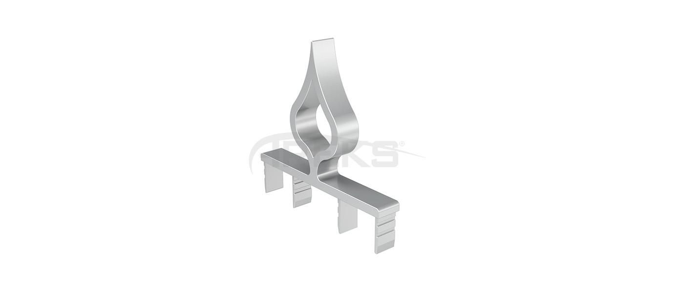 14x100_Damla_Dekorlu_Tapa Aluminium railing Aluminium fence Aluminium glass railing