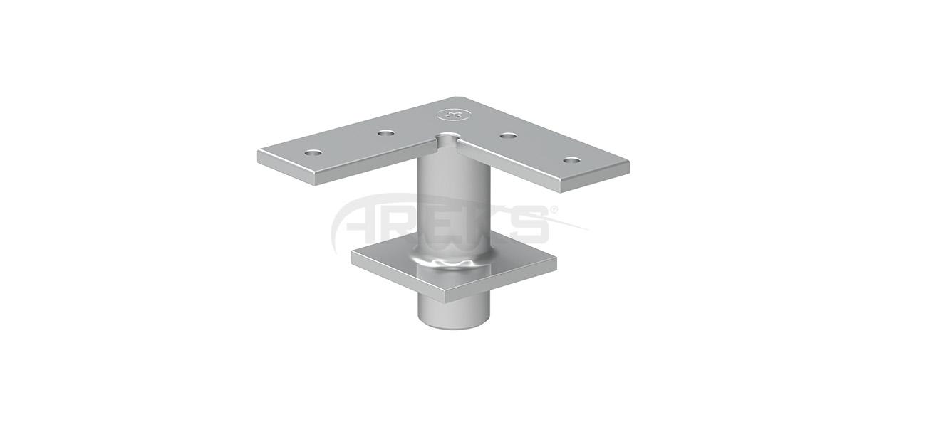 25x60_30X80_Mafsalli_90_Derece_Kose_Baglanti_Takimi Aluminium railing Aluminium fence Aluminium glass railing