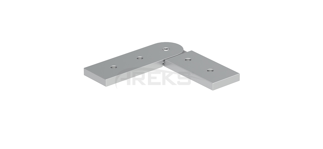 25X60_30X80_Hareketli_Kose_Baglanti_Takimi Aluminium railing Aluminium fence Aluminium glass railing