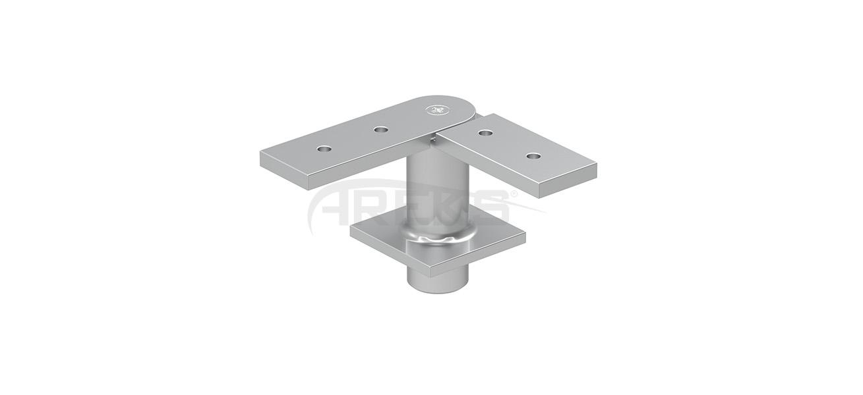 25X60_30X80_Mafsalli_Hareketli_Kose_Baglanti_Takimi Aluminium railing Aluminium fence Aluminium glass railing
