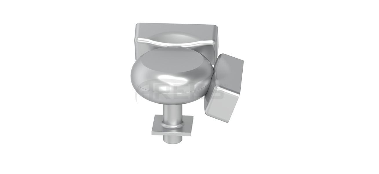 30x80_Mafsalli_Cok_Acili_Donus_Takimi Aluminium railing Aluminium fence Aluminium glass railing