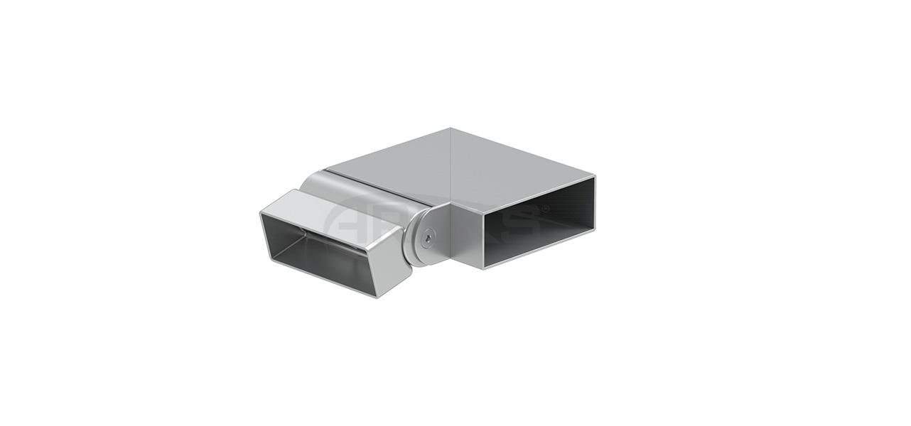 30x80_90_Derece_Sol_Hareketli_Donus Aluminium railing Aluminium fence Aluminium glass railing