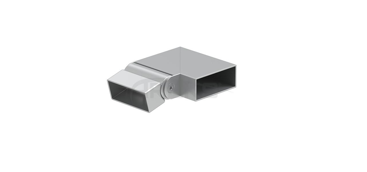 25x60_90_Derece_Sol_Hareketli_Donus Aluminium railing Aluminium fence Aluminium glass railing