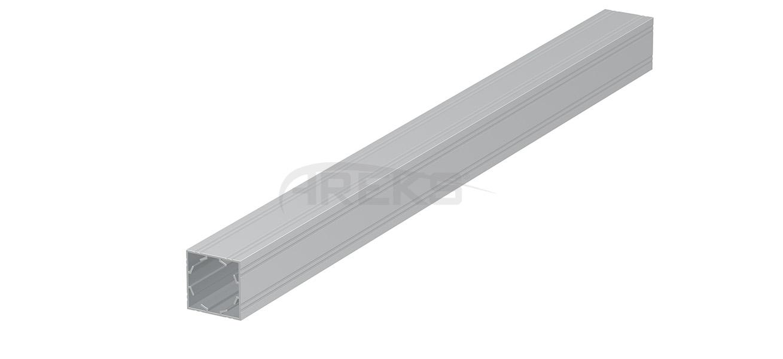 Kara_Baba_Profili Aluminium railing Aluminium fence Aluminium glass railing