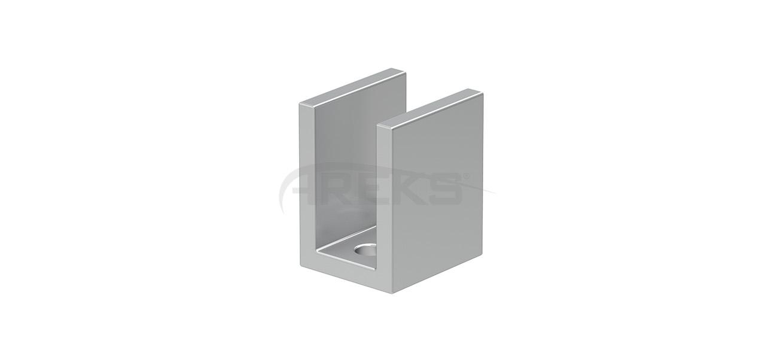 32x25_Kare_Boru_Baglanti_Takozu Aluminium railing Aluminium fence Aluminium glass railing