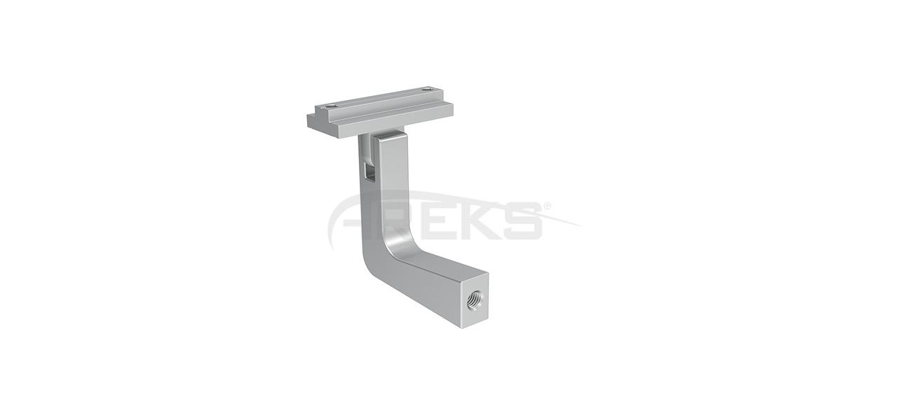 40X40_Kare_Dikme_Yandan_Baglanti_Mafsali Aluminium railing Aluminium fence Aluminium glass railing