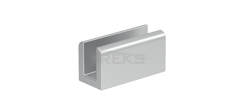 Kare_Dikme_Cam_Tutamagi Aluminium railing Aluminium fence Aluminium glass railing