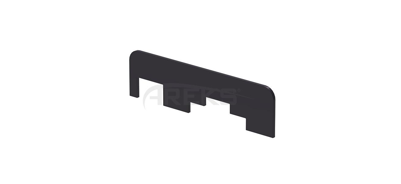 60x25_Kanalli_Boru_90_Derece_Baglanti_Contasi4096 Aluminium railing Aluminium fence Aluminium glass railing