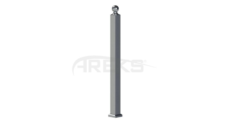 70X70_Kare_Baba_Takimi Aluminium railing Aluminium fence Aluminium glass railing