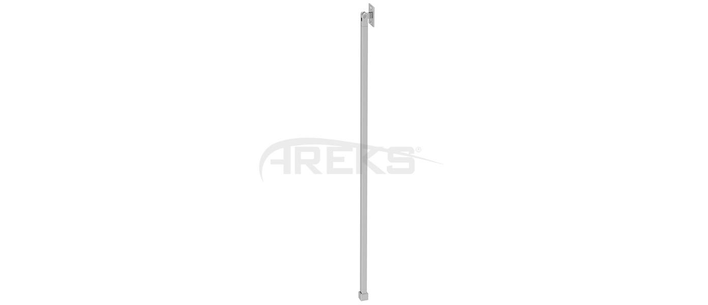 14X14_Dikme_Takimi_100_cm Aluminium railing Aluminium fence Aluminium glass railing